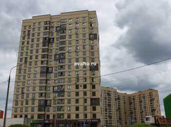 Вид на 26 корпус со стороны ул. Кадомцева